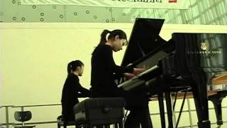 S. Rachmaninov Suite no.2 op.17 IV. Tarantella Piano Duo 光山ピアノ