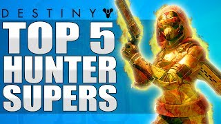 Destiny: Insane Hunter Team Wipe - Top 5 Hunter Supercharge Plays Of The Week / Episode 450