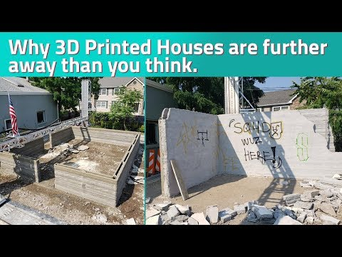 The Problem With 3D Printed Houses | Additive Manufacturing Podcast