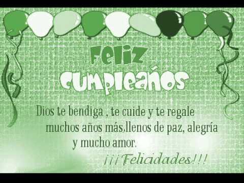 Happy Birthday - Nsync (Dedicatoria) Feliz Cumpleaños