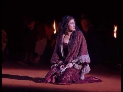 Nadia Krasteva, Carmen - Card scene