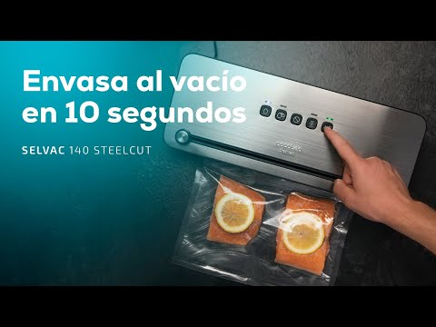Cecotec Vacuum Sealer SealVac 140 SteelCut CEC-04258
