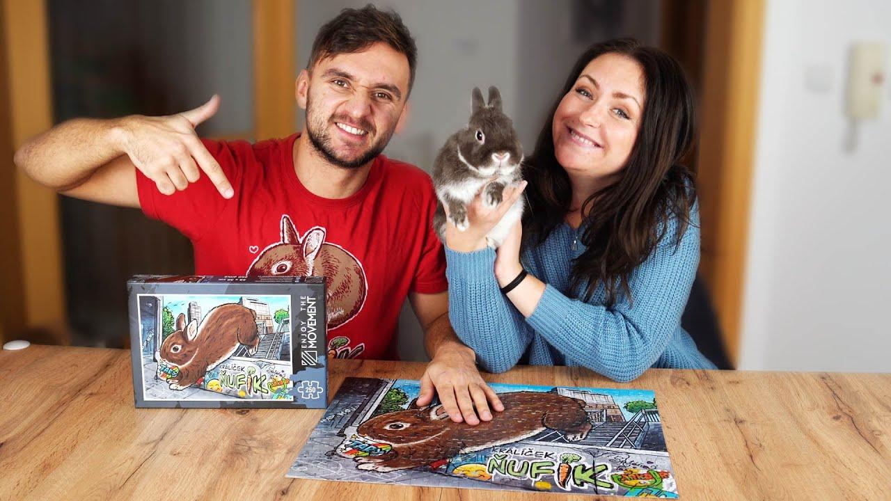 Skládáme Ňufíkovy nové Puzzle! @Stáňa