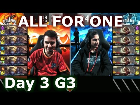 Turkey (Ezreal) vs LAS (Corki) One For All Mode | 2016 LoL IWC All-Stars Day 3 | FIRE vs ICE