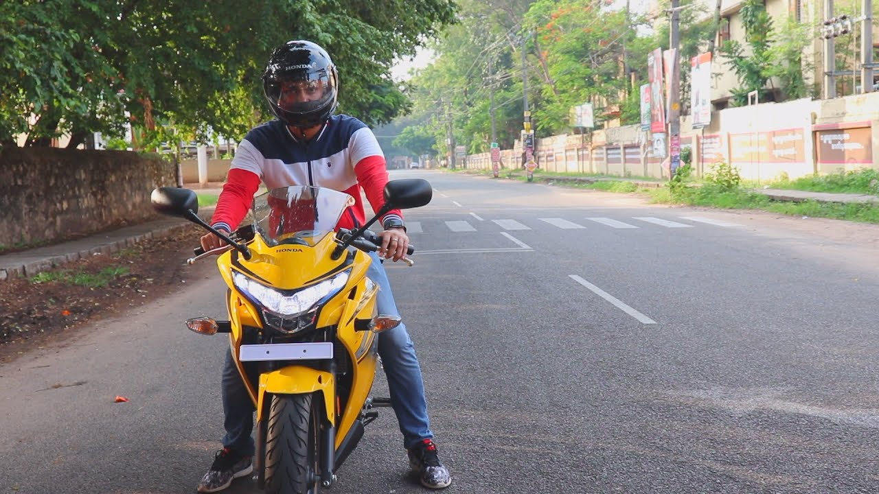 Honda Cbr 250r 2018 Review Pearl Sport Yellowday Night Ride