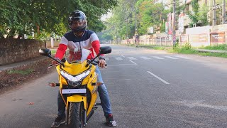 Honda CBR 250R 2018 Review Pearl Sport Yellow!!(Day & Night Ride with all info)