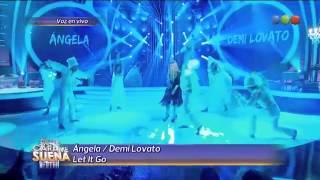 Angela Torres es Demi Lovato en Tu cara me suena 2014 HD