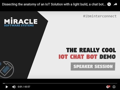 Dissecting The Anatomy Of Iot Solution With A Light Bulb Chat Bot