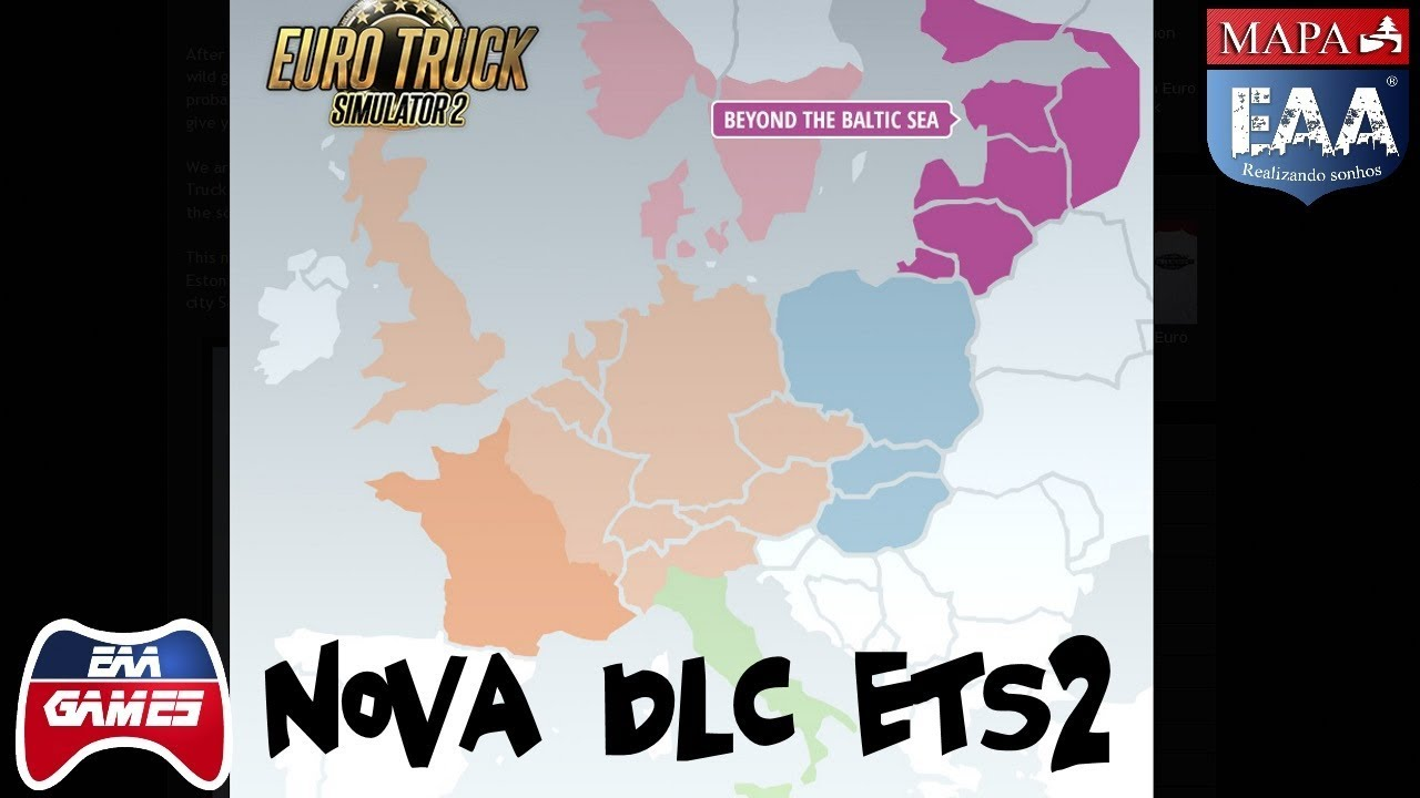 nova dlc ets2 dlc beyond the baltic sea youtube. Black Bedroom Furniture Sets. Home Design Ideas