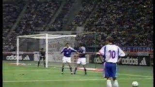 日本vsユーゴスラビア キリンカップサッカー2001 大分ビックアイ