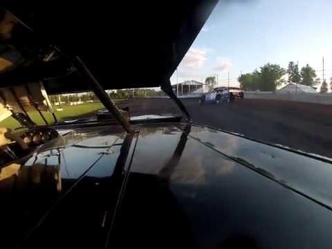 Norman County Raceway A Mod Heat Race Bryce Borgen