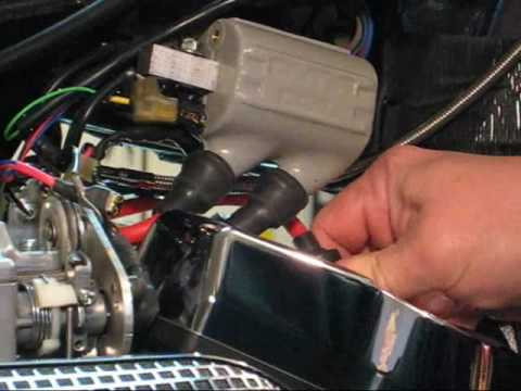 installing dyna coils wires on a yamaha roadstar part 1