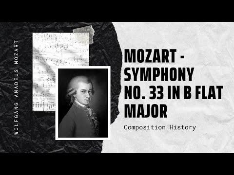 Mozart - Symphony No. 33 in B flat major K 319