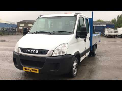 veco Daily 2.3Hpi 35c13 D/Cab Tipper [ Brand NEW Build Body ] Tool store in rear