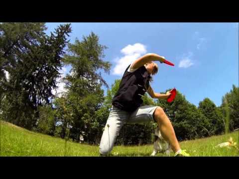 GoPro dogfrisbee