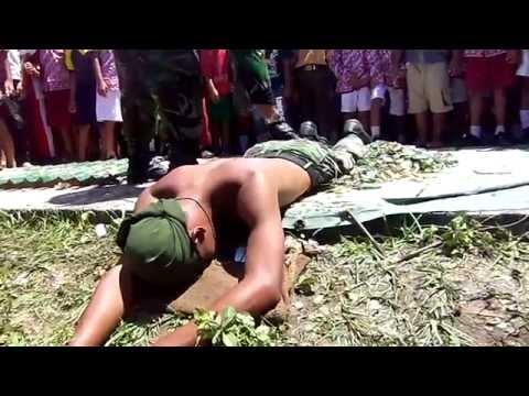 atraksi TNI AD INDONESIA di lindas truk mengerikan