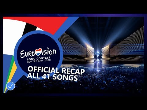 RECAP: ALL 41 SONGS COMPETING IN EUROVISION SONG CONTEST 2020