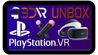 Розпакування шолома віртуальної реальності Playstation VR | 3D-VR: все про віртуальної реальності
