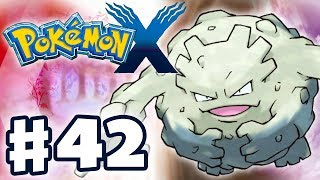 Pokemon X and Y - Gameplay Walkthrough Part 42 - Terminus Cave (Nintendo 3DS)
