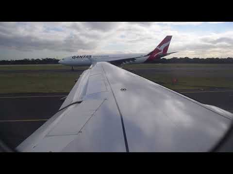 Take Off from Sydney Kingsford Smith Airport SYD -- Jetstar Airbus A320