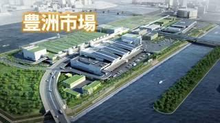 豊洲市場 施設竣工映像(青果)
