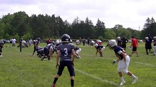 Clip #7 B'ham Patriots vs Waterford  Scrimmage 8-18-18