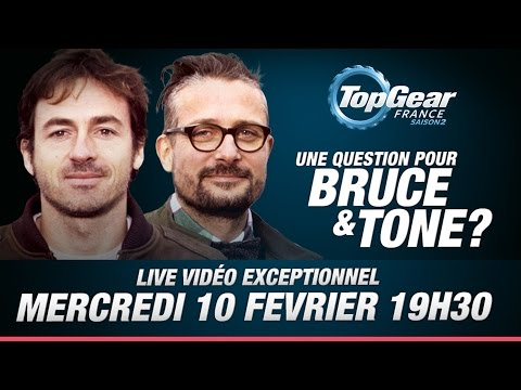 LIVE Top Gear France (Replay)