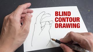 Use Blind Contour Drawing to Improve Hand-Eye Coordination
