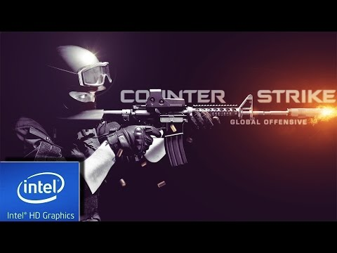 COUNTER STRIKE : GLOBAL OFFENSIVE    LOW END PC TEST   INTEL HD 4000   4 GB RAM   I3  