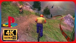 Downhill Domination - PS2 Gameplay [ 4K 60FPS PCSX2 ]
