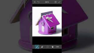 как изменить цвет в приложении PicsArt  бонус эффект