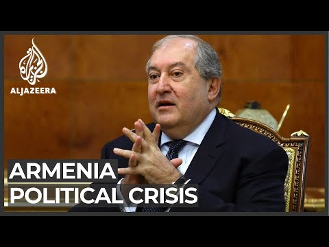 Armenian president rejects army chief's dismissal after PM order