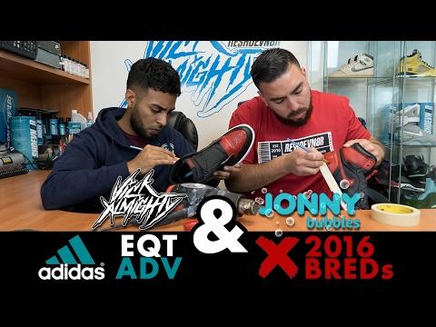 Restorations With Vick - Adidas EQT ADV & 2016 Jordan BRED 1's
