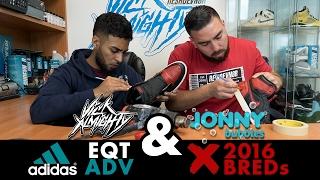Restorations With Vick - Adidas EQT ADV & 2016 Jordan BRED 1