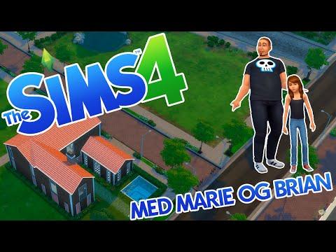 SIMS 4 MED MARIE OG BRIAN #1