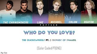 The Chainsmokers - Who Do You Love ft. 5 Seconds of Summer (Traducao PTBR) [Color Coded P ...