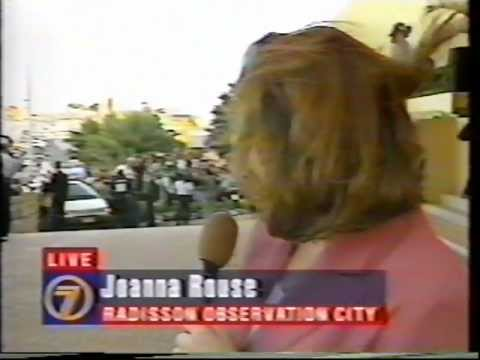 Michael Jackson - Perth Visit (TV News 1996)