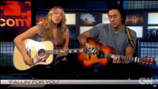 colbie caillat performs fallin for you live