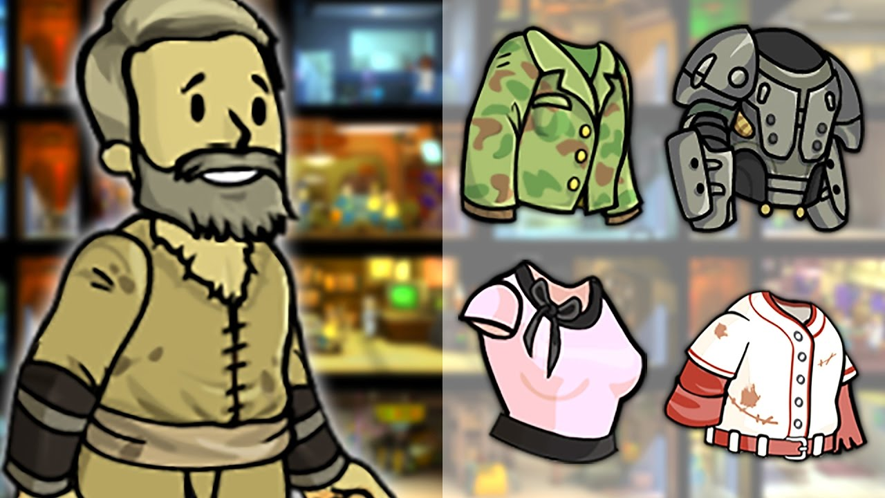 fallout shelter how to get outfits