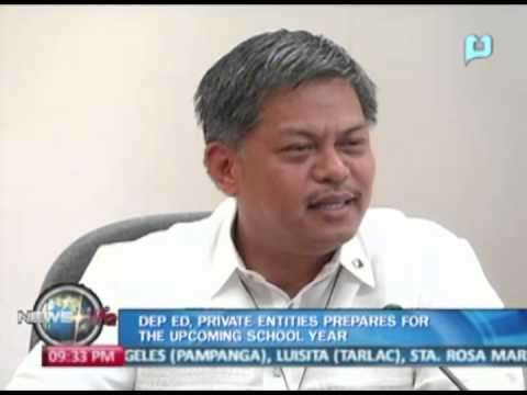 NewsLife: DepEd, private entities prepares for the upcoming school year