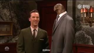 Benedict Cumberbatch donation to hospital scene SNL