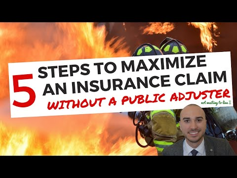 How To Get Homeowners Insurance To Pay For Property Damage Claim Without A Public Adjuster Or Lawyer