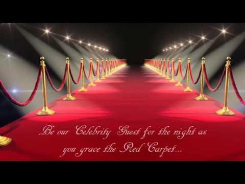 Dream Girls Red Carpet Gala Invitation