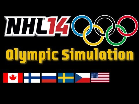 NHL 14: Olympics - Gold Medal Simulation