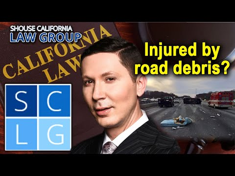 "Accident caused by road debris: ""Who is responsible?"""