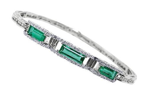 Colombian Emerald Bracelets