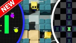 BEST 3 NEW .IO Games! | Zlap.io With Dodgeballs, Killer Chess | Dodgeball.io/Xess.io/Blastarena.io