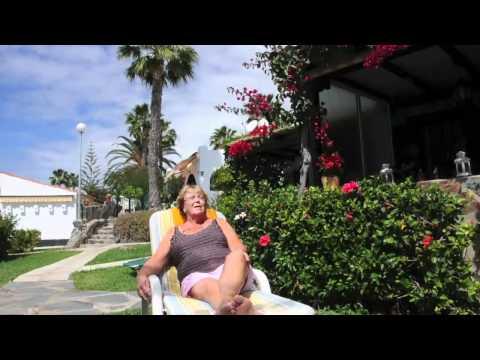 Familien Davidsen deler sine erfaringer med kjøp av bolig på Arguineguin, Gran Canaria