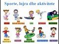 #23: Learn Albanian Online (Beginner Class: Sports, Games & Activities)