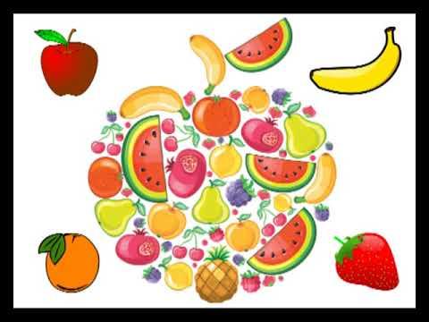 """Song for kids - """"Fruits"""" Bolalar uchun ingliz tilida qo'shiq - Mevalar"""